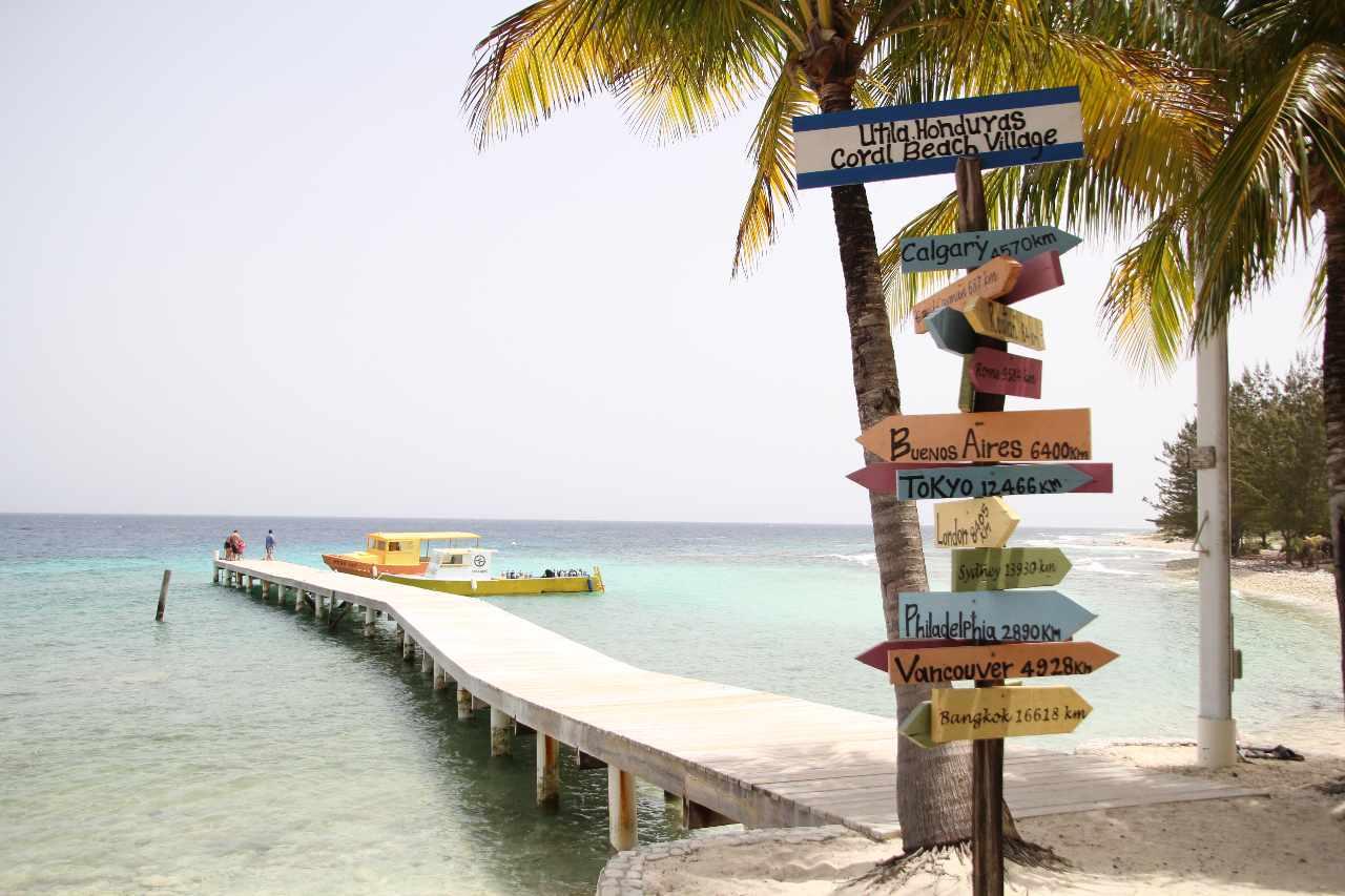 Utila Honduras Strand