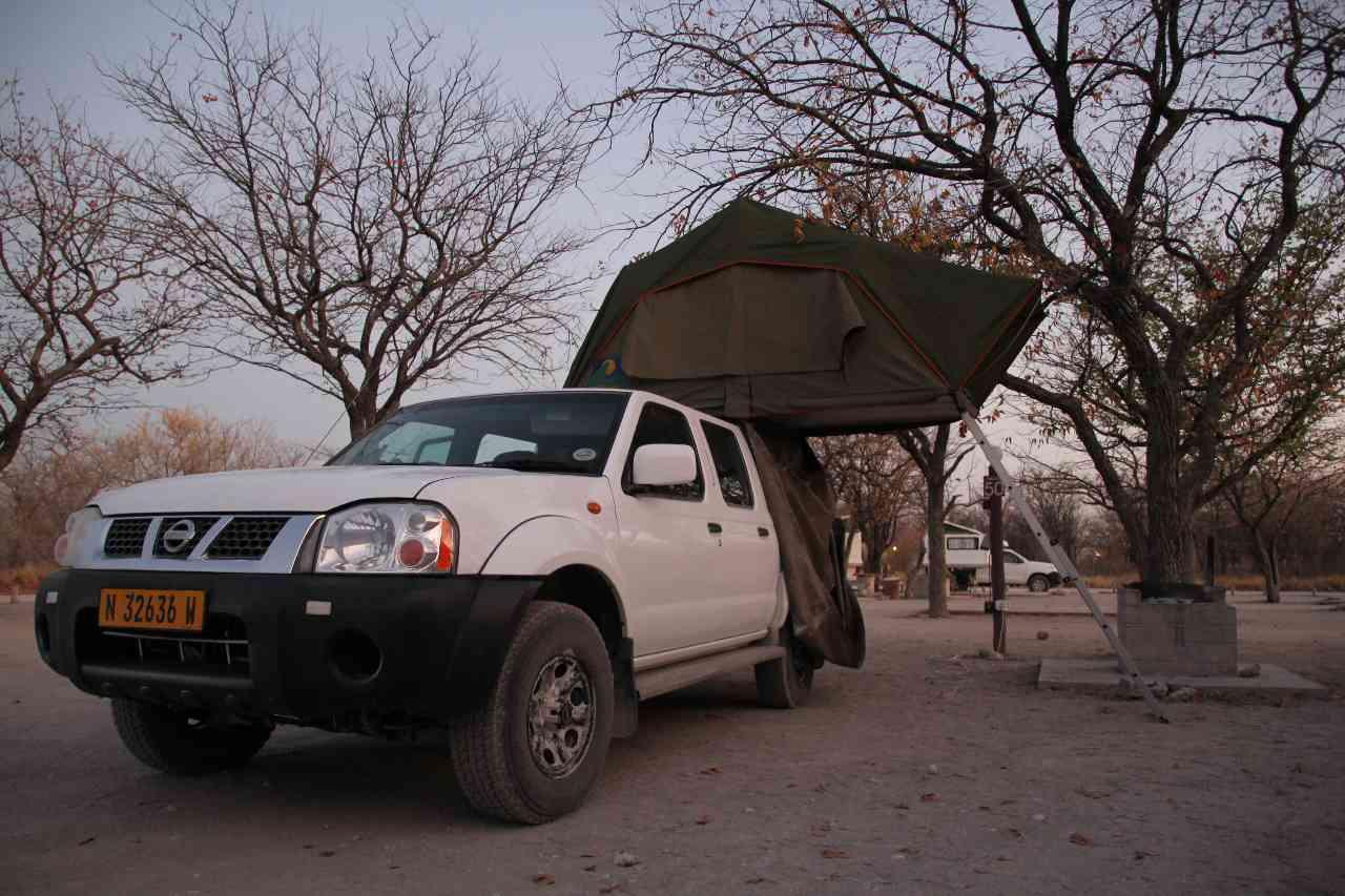 Camping Car Halali Etosha