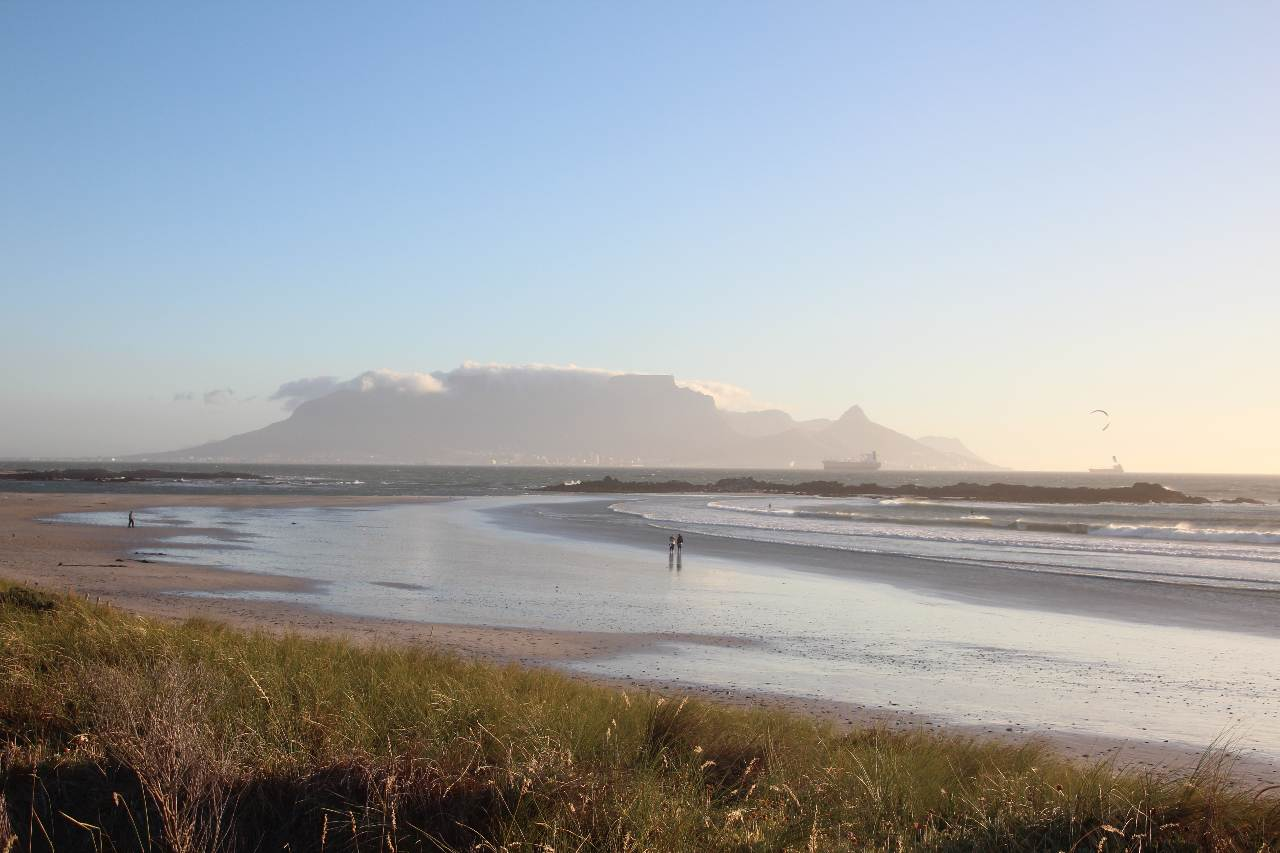 Big Bay, Tafelberg, Blouberg, Südafrika, Kapstadt